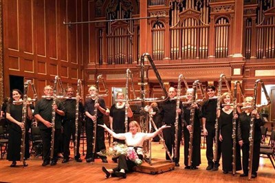 She plays the world's largest flute | The Florida Conference