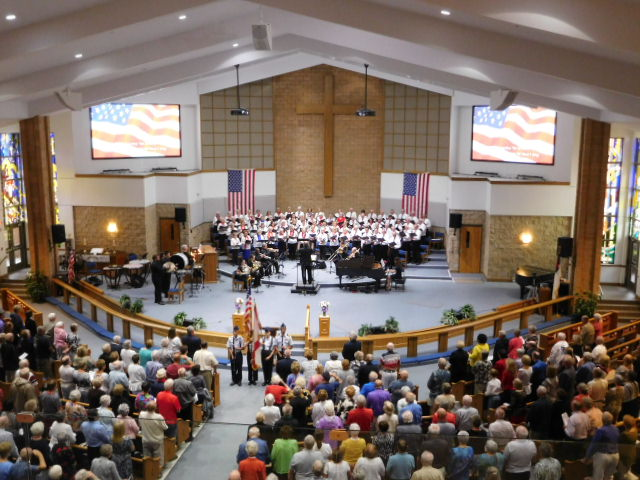 For God and Country Celebration at Spring Hill | The Florida