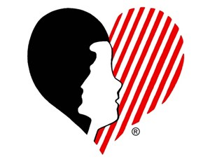 Kairos Outside logo shows woman silhouette in a heart shape
