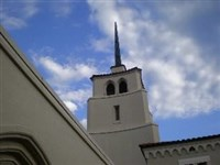 Profile of First UMC, Lake Wales, steeple