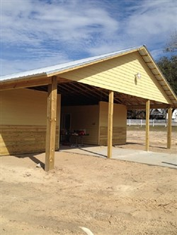 Stickney Stable built to house equine therapy at Madison Youth Ranch