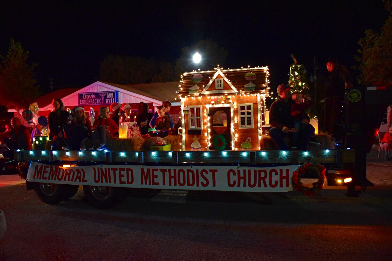 what a beautiful night for the lake placid christmas parade thank you to everyone who helped decorate our float and rode in the parade with us