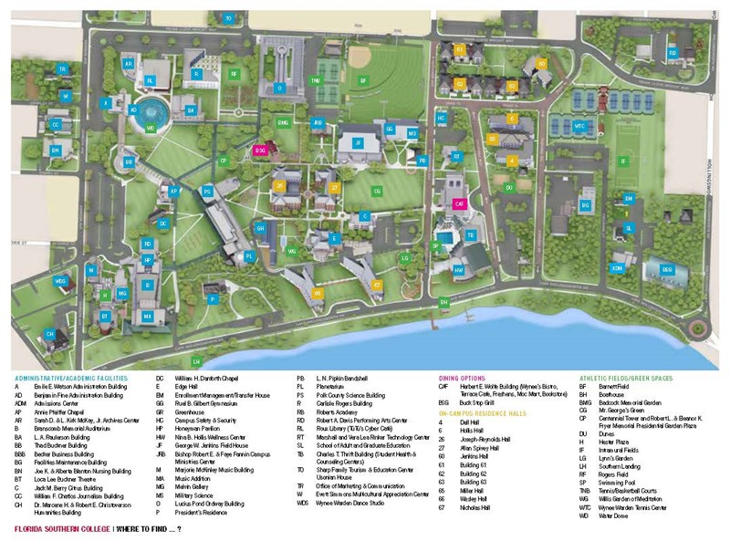 Campus Maps The Florida Conference Of The United Methodist Church