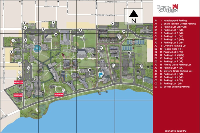 Umc Campus Map.Campus Maps The Florida Conference Of The United Methodist Church