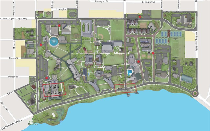 Cumberland County College Campus Map.Campus Maps The Florida Conference Of The United Methodist Church